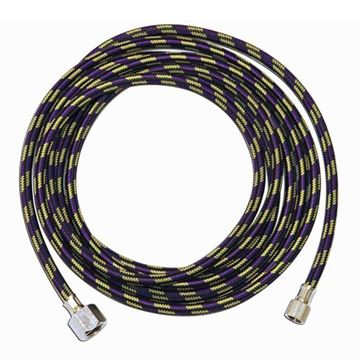 10 feet fiber hose brown color