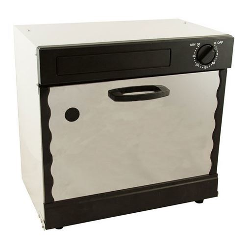 sterilizer box with black outside and white in middle