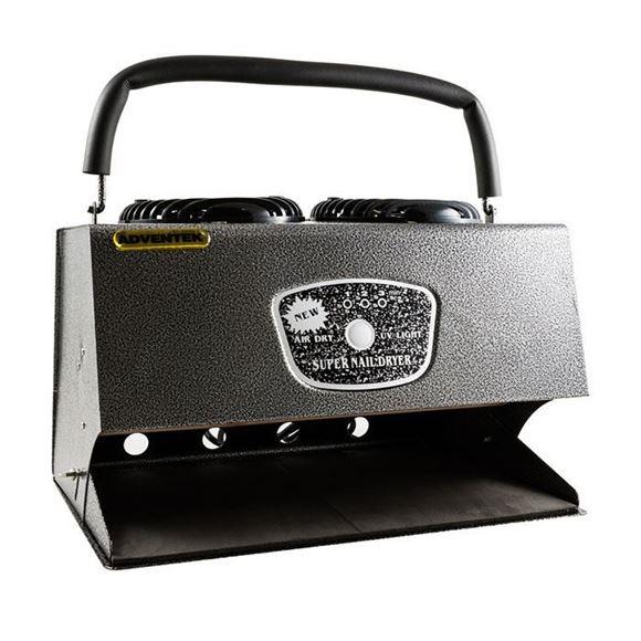 black nail dryer machine