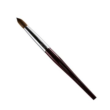 Rosewood handle with silver ferrule brush