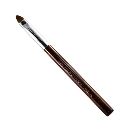 rosewood french brush on white background