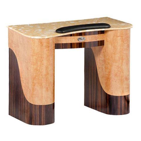 chestnut cherry nail table
