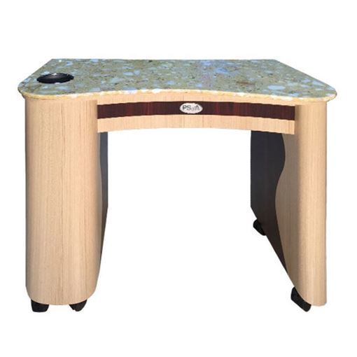 rosewood color manicure table