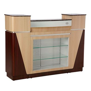 ash rosewood reception counter
