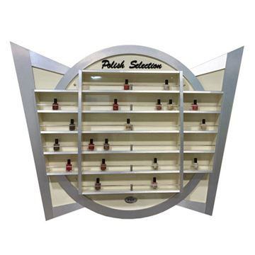 aluminum nail polish rack