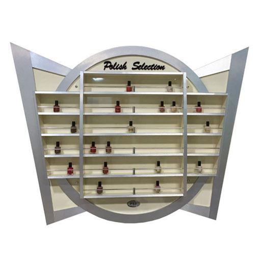 aluminum nail polish rack