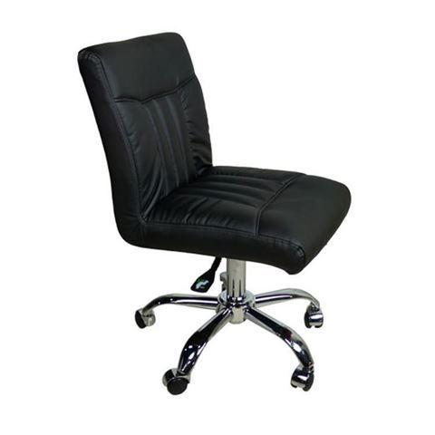 black manicure stool