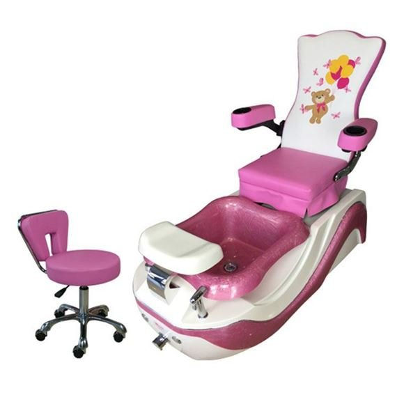 PSA iBear kid pedicure chair with stool