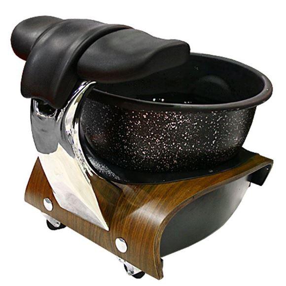 gulfstream Mini Lavender portable pedicure spa in black