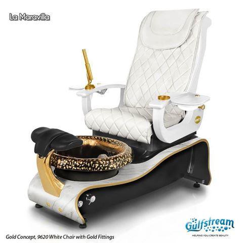 La Maravilla in gold concept with 9620 white