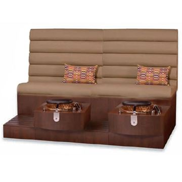 Picture of Gulfstream Kimberly Double Pedicure Bench