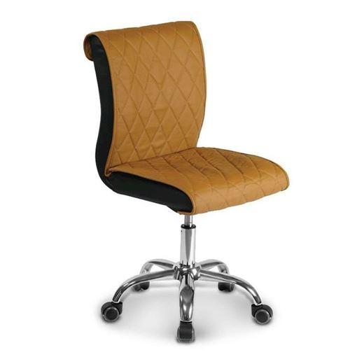 gulfstream GS9020 manicure stool in butterscotch