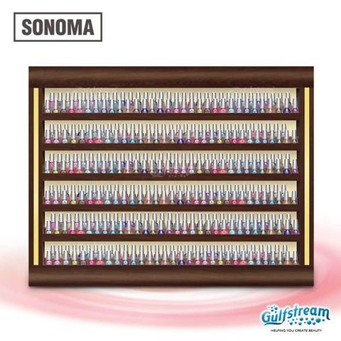 Picture of Gulfstream Sonoma Nail Polish Rack