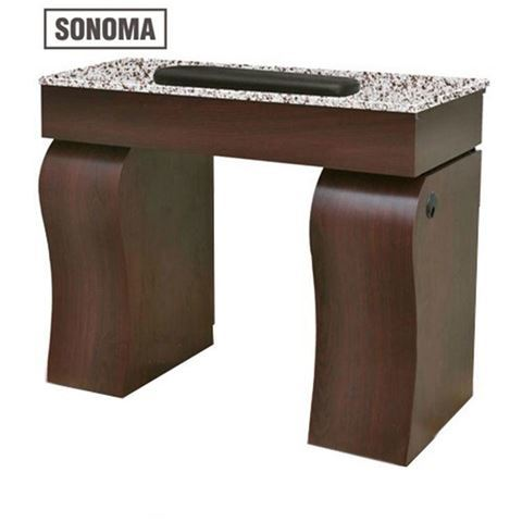 Sonoma manicure table front view
