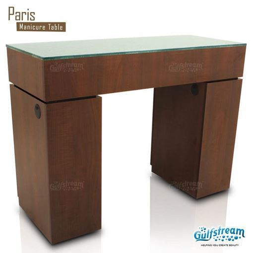 paris nail table in truffle