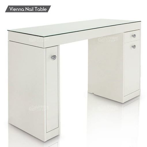 vienna nail table front view