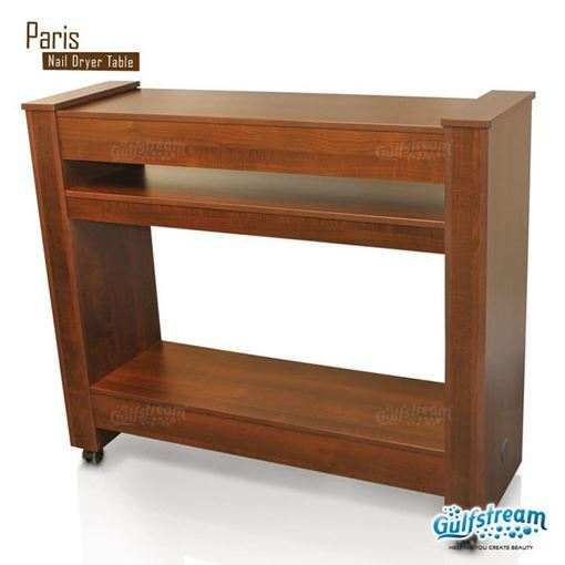 Gulfstream Paris dryer table in caramel