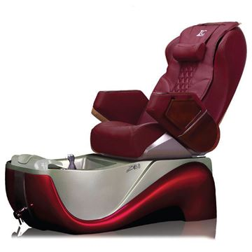 red pedicure spa