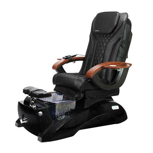 Florence EX Pedicure Spa In Galaxy Base & Black Chair