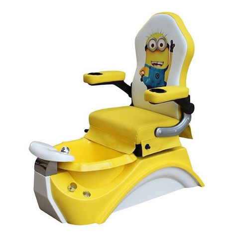yellow T815 Kid Pedicure Chair