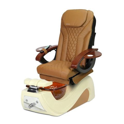 AYC Fior Pedicure Chair In Cappuccino