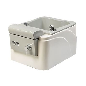Taizen portable pedicure spa side view