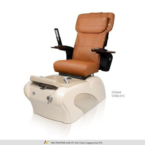 ANS Panther pedicure spa with cappuccino Human Touch HT-245 massage chair