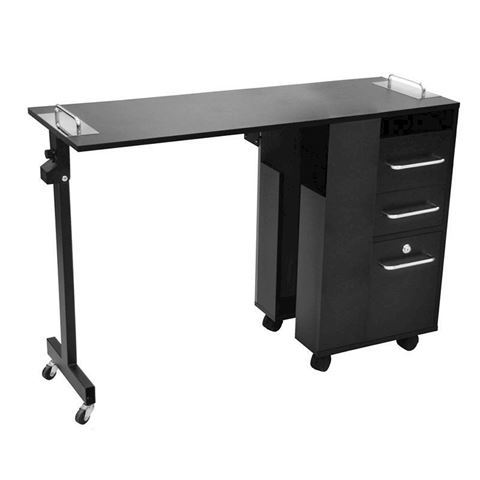 Taylor nail table in black color