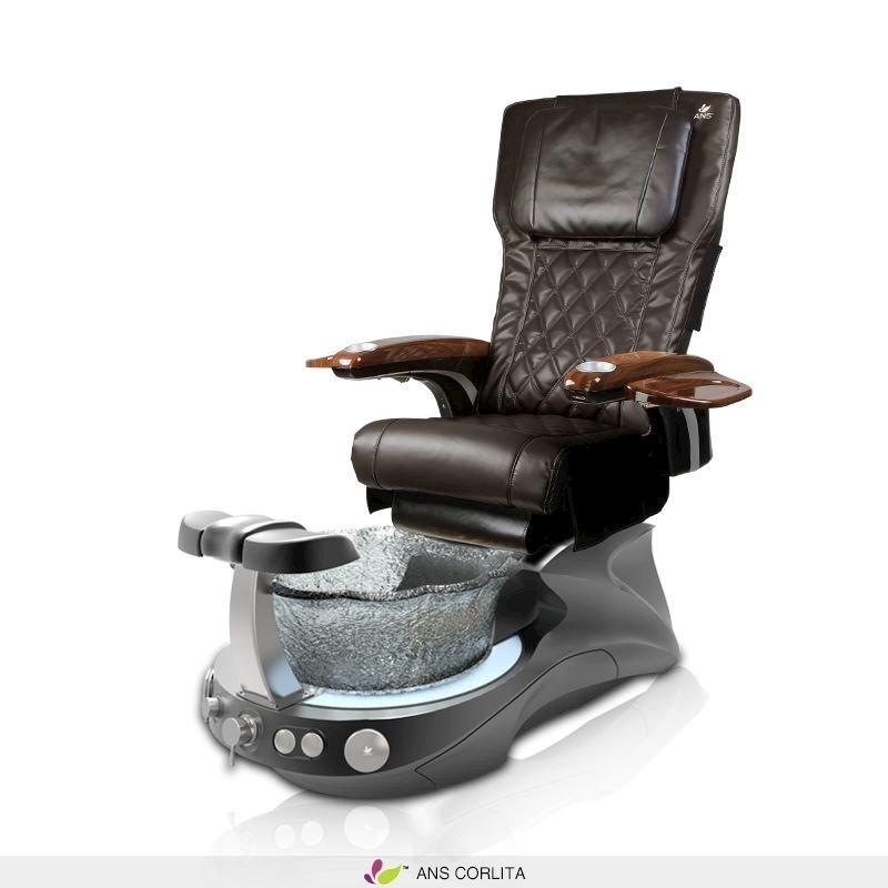 Corlita pedicure spa with espresso ANS P20 massage chair  sc 1 st  Tittac & Corlita Pedicure Spa Chair | Tittac