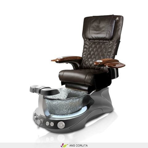 Corlita pedicure spa with espresso ANS P20 massage chair