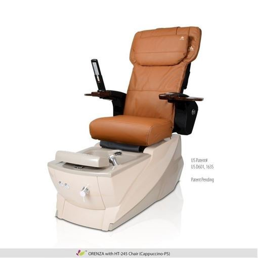 Orenza pedicure spa with cappuccino Human Touch HT-245 massage chair
