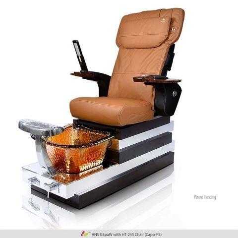 Gspa W with caffelle base and cappuccino Human Touch HT-245 massage chair