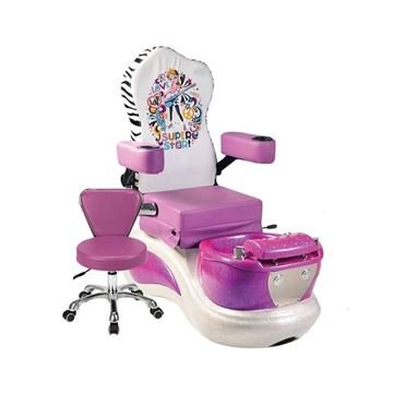 Superstar kids pedicure chair front view