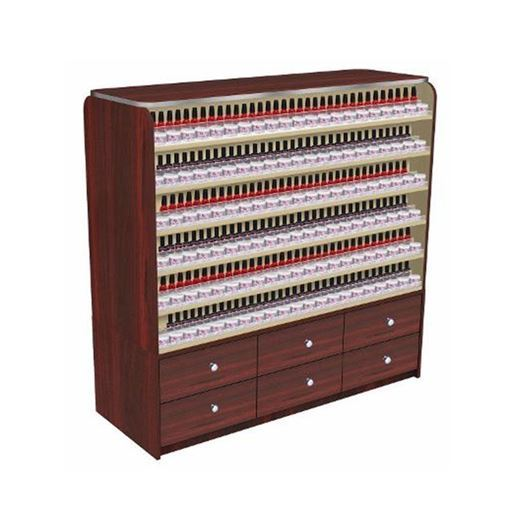 Avon 1 nail polish cabinet with 6 drawers