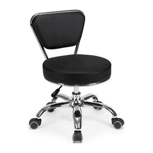 Black Dayton pedicure stool