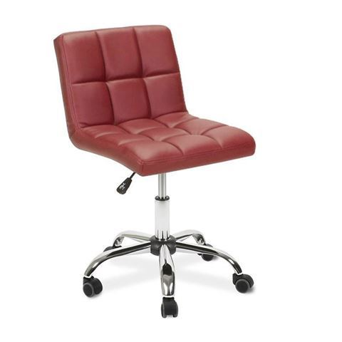 red Toto technician stool