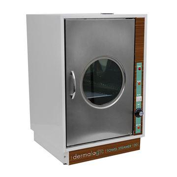 stainless steel Dermalogic 120 towel steamer