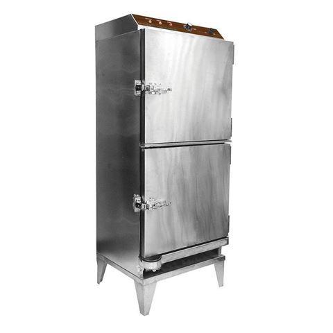2-door stainless steel Dermalgoic 360 towel steamer