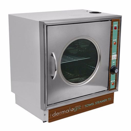 stainless steel Dermalogic 72 towel steamer