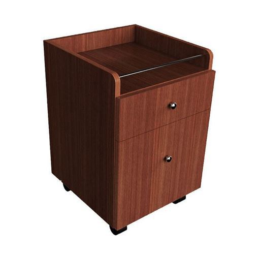 dark cherry laminate VL301 pedicure trolley