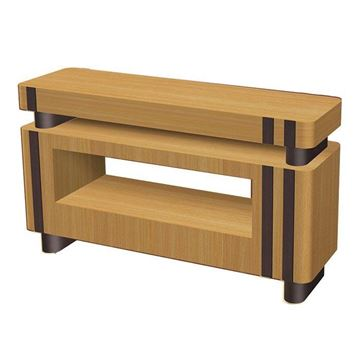 cherry / dark oak laminate PSD VL400 nail dryer table