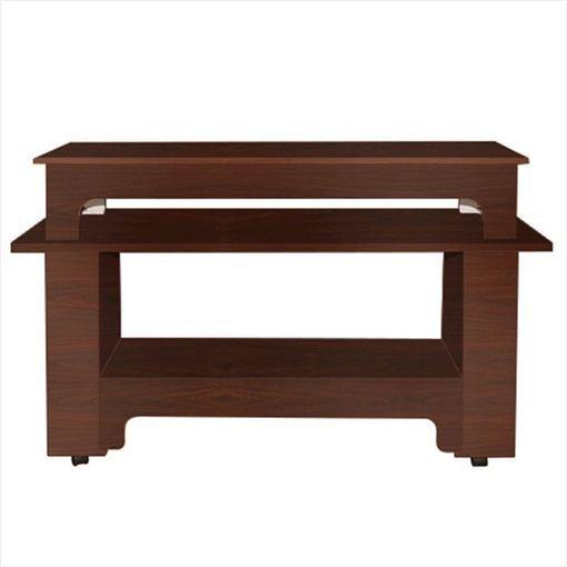 mahogany laminate ANS Classic Quad Quick Dry Table