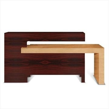 mahogany & oak ANS Contemporary quick dry station