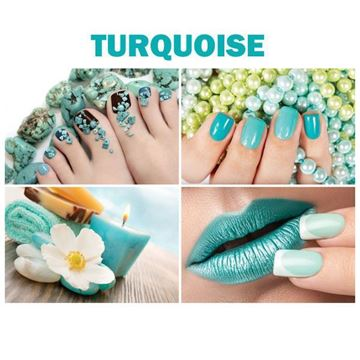 beautiful 4 Turquoise canvas murals