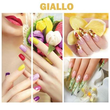 4 piece Giallo canvas mural set