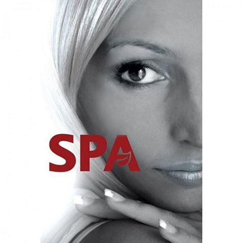 24 x 36 inch B2 window decal for spas