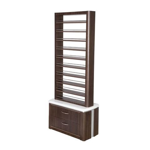 dark walnut laminate VM820 modern polish rack