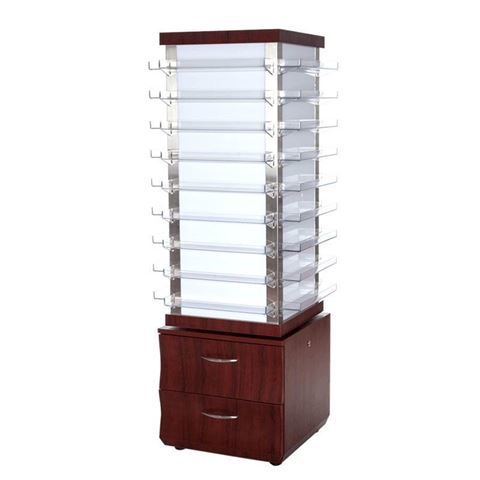 sedona red color VP810 Privé Rotating Polish Rack