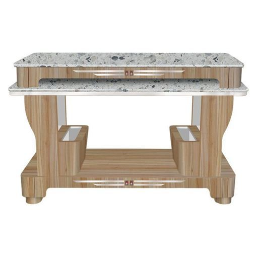 light brown Fiori nail dryer table