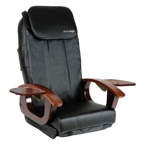 black AYC Shiatsulogic DX massage chair